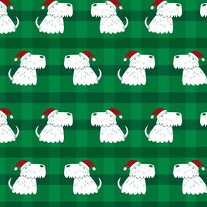 scottish terrier christmas dog