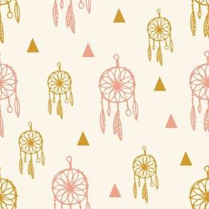 dreamcatcher pink