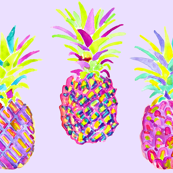 pineapple in lavender