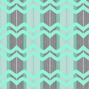 Umbrellas Adrift:Chevron