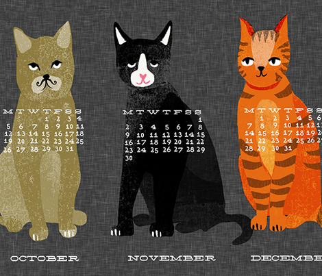 2017 Cat Calendar by Andrea Lauren