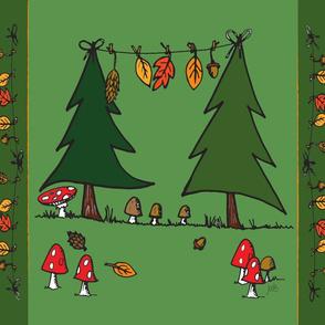 AutumnParty Tea Towel (KONA)