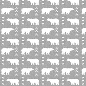 bear light grey linen