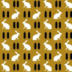 rabbit golden linen