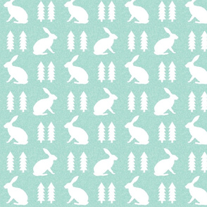 rabbit mint linen