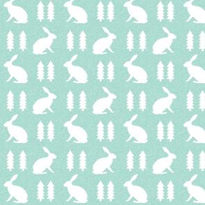 rabbit mint linen