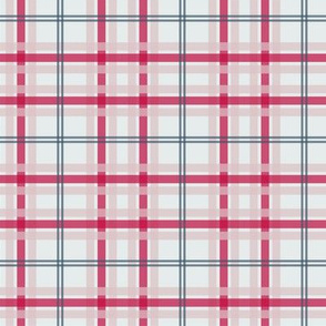 Candy Cane Plaid