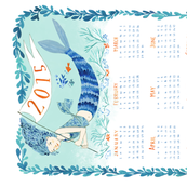 2015 Tea Towel