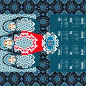Matryoshka - 2015 Calendar
