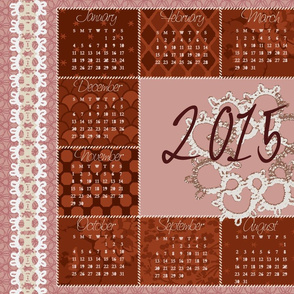 Stitches in Time 2015 Tea Towel Calendar