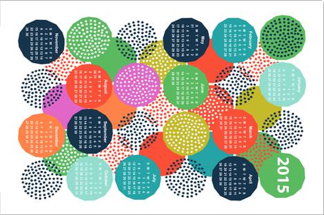 2015 Calendar - A dotty year