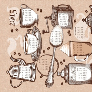 """Coffee"" Tea Towel"