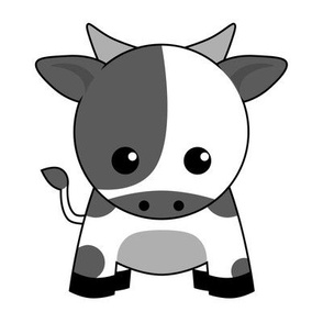 Zodiac Kawaii Cow