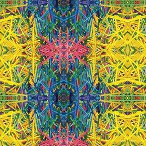 Sticky Plaid bright multi