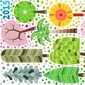 Tree calendar 2015