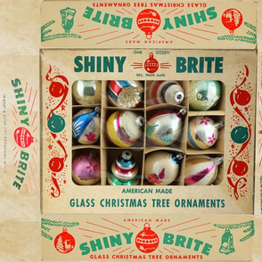 shiny brite Box