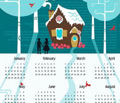 Julie's Fable Calendar