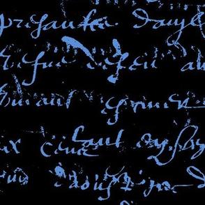 Cornflower Blue French Script-ch-ch