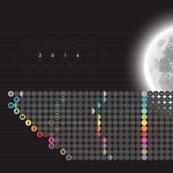 Mod Moon Calendar 2016 by Friztin