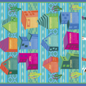 Peruvian Tea Towel 2015