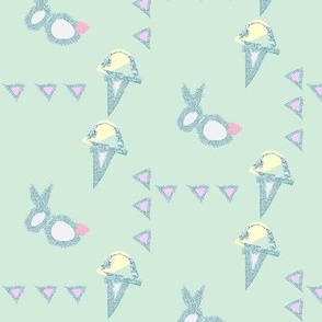 Bunnies and Icecream Mint