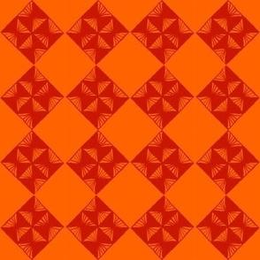 argyle orange