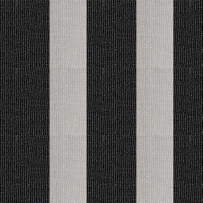 Torii vertical stripe - black & light grey