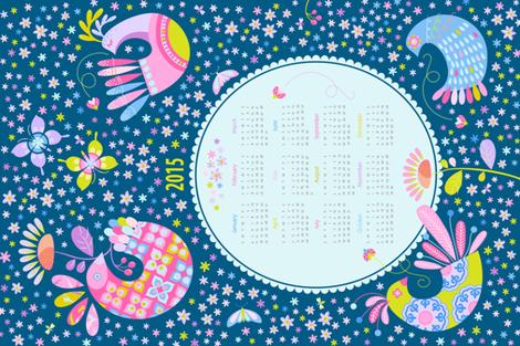 2015 Birds & Beasts Calendar