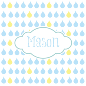 raindrops sky - personalized