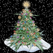 Cannabis Xmas Tree