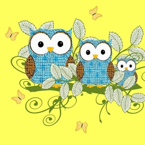 Family_of_Owls_-_pillow