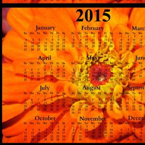 2015 Calendars - Orange Delight