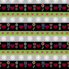 Retro Holiday stripes