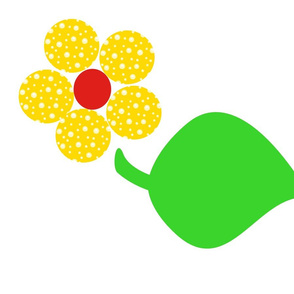 Next:Dotty Yellow Flower with Giant Leaf (daylight)