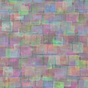 iridescent squares