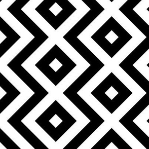 zigzag and square