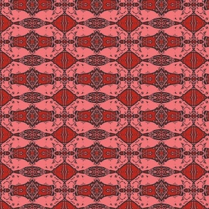 Persian cat carpet