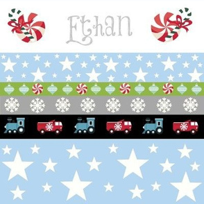 Holiday Star - truck and trains-personalized
