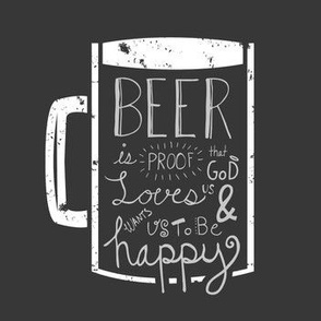Be Happy - Here's a Beer