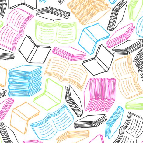 So Many Books (Pastel)