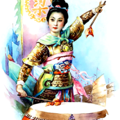 asian china chinese oriental chinoiserie hua mulan woman lady girl warriors war battles drums flags junk ships traditional martial arts kung fu