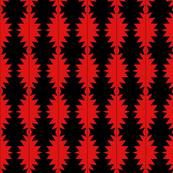 Pineapple Red and Black