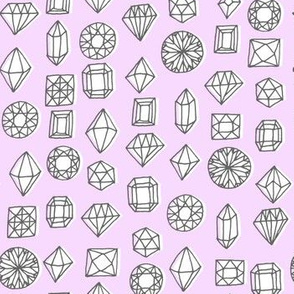 gems - purple