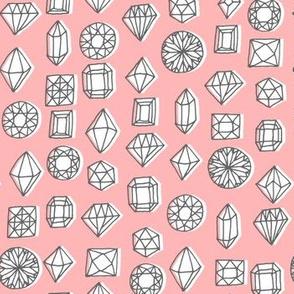 gems - pink