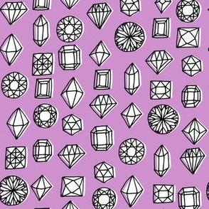 gems - dark purple