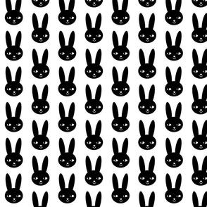 happy bunny black
