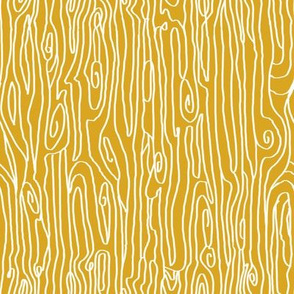 woodgrain golden mustard yellow nursery swedish nature fabric