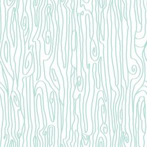 woodgrain mint white