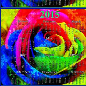 2015 Calendars - Rose Rainbow