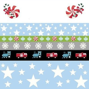 Holiday Star - truck and trains template